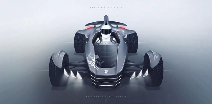 VW single-seater concept car (unofficial) by GLoRin26