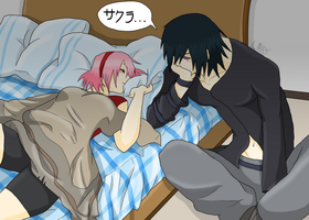 SasuSaku - sweet dreams by AniiTaRuiz