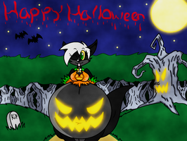 Happy Halloween EV by dragovian15