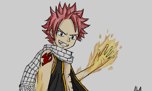 Natsu Dragneel by AlphonseElric411