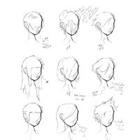 Hair Styles Vol 3 by ron-guyatt
