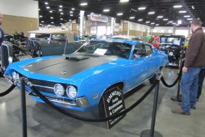 70 Ford Torino by zypherion