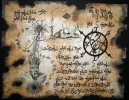 Black Lotus Incantations by MrZarono