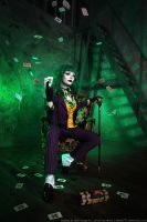 Female Joker cosplay 8 by HydraEvil