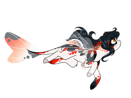 Skimmer Adopt - Koi Themed (CLOSED) by FuyusFox