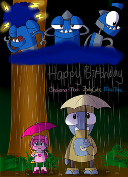 [BDAY] Forest Raindrops (Charisma, Zoot, and Krog) by ZoomTorch20