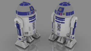 R2D2 Final Model by svenniemannie