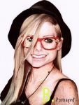 Avril Lavigne by B-Portrayed