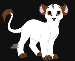 Me as a lion by Alysaya