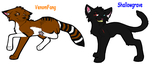 VenomFang and Shallowgrave by Kekeywolf