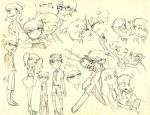 Dexter's Lab(sketch dump) by Glytzy