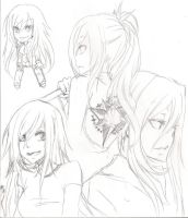 KHR OC : Stella TYL Sketches by SAKU02