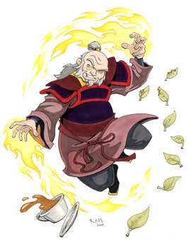Avatar's Uncle Iroh by ryanneal