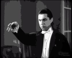 Bela Lugosi as Dracula. vector by shok75