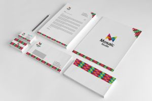 Mosaic Studio Corporate Identity by thearslan