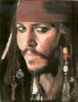Johnny Depp by sketchychick