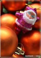 santa in fuschia by spydude