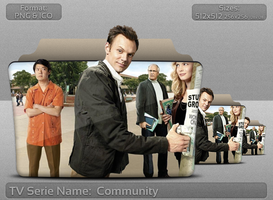 Community - Tv Series Folder Icon by atty12