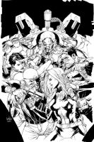 ultimateversus issue 5 cover by leinilyu
