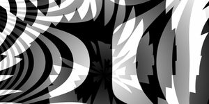 Black and White 1600x800 by flutefaerie