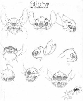 Stitch Faces by LC123