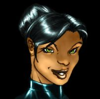 Phantom Woman Face by Cane-force