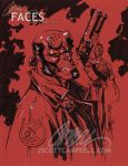 """HELLBOY """"red paper"""" by J-Scott-Campbell"""