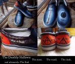 Deathly Hallows Shoes by GymnastMagic