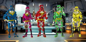 Power Rangers Zeo Advanced by BadDogg