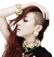 Dara (2NE1) png  [render] by Sellscarol