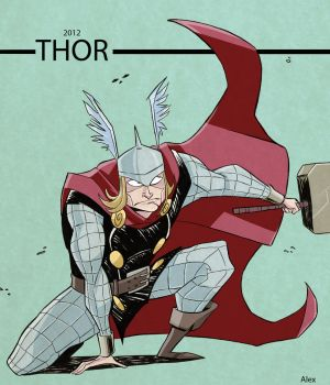 Thor by ghonnen