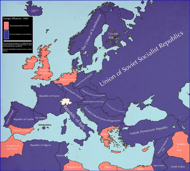 Europe, 1960 [althistory][Sequel to Europe, 1950] by Animadefensor