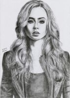 [33] Lily Collins as Clary Fray. by JustSweetMelody