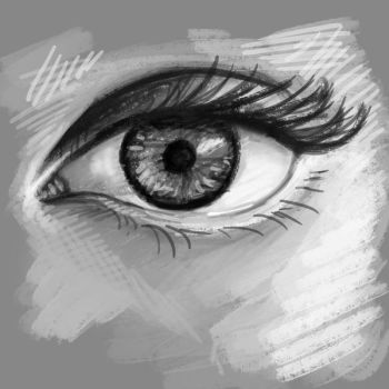 Eye study by Adoron