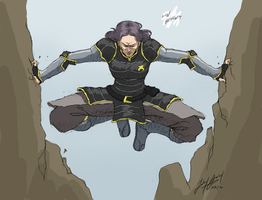 Lin Beifong by friedChicken365