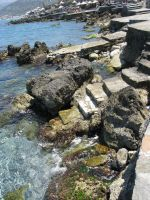 Sea rock steps 2 by Sassy-Stock