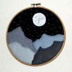 Mountain Hoopla by VickitoriaEmbroidery