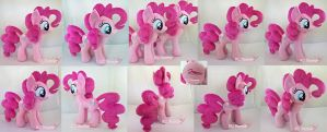 Pinkie Pie Plushie x2 (one is for sale!) by moggymawee