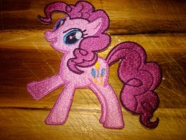 Pinkie Pie Patch by EthePony