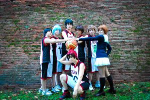 Let's Fly Now ~ Seirin ~Kuroko no Basket by IkariNyan