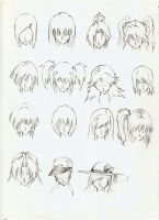 Hairstyle Collection 02 by theshazerin