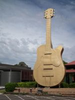 The Big Golden Guitar by BrendanR85