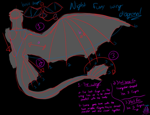 HTTYD-Night Fury Wing Diagram by CavySpirit