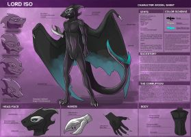 [Commission] Lord Iso Character Sheet by Ulario