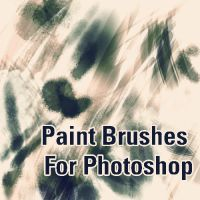 Paint Brushes for photoshop by martinacecilia