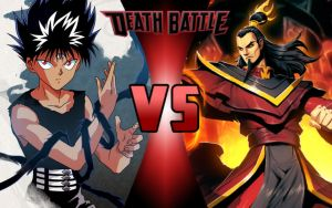 DEATH BATTLE: Hiei vs Ozai by G-Odzilla