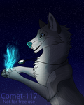 Loner- YCH for LonerWolf35 by Comet-117