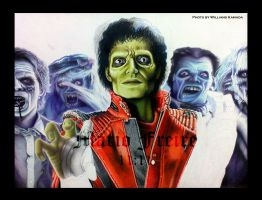 MJ - Thriller WIP II by mario-freire
