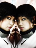 Hinata in mirror by zerometric