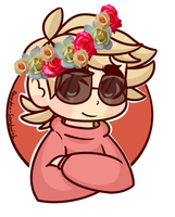 : flower crowns bitch : by P--ara